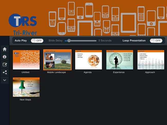 SlideShark screenshot