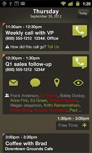MobileDay screenshot