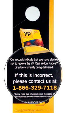 How to Opt Out of Receiving the Yellow Pages   Steve Anderson's TechTips