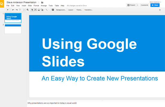 google slides kick the powerpoint habit steve anderson s techtips