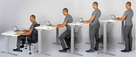 Consider Using a Standing Desk!